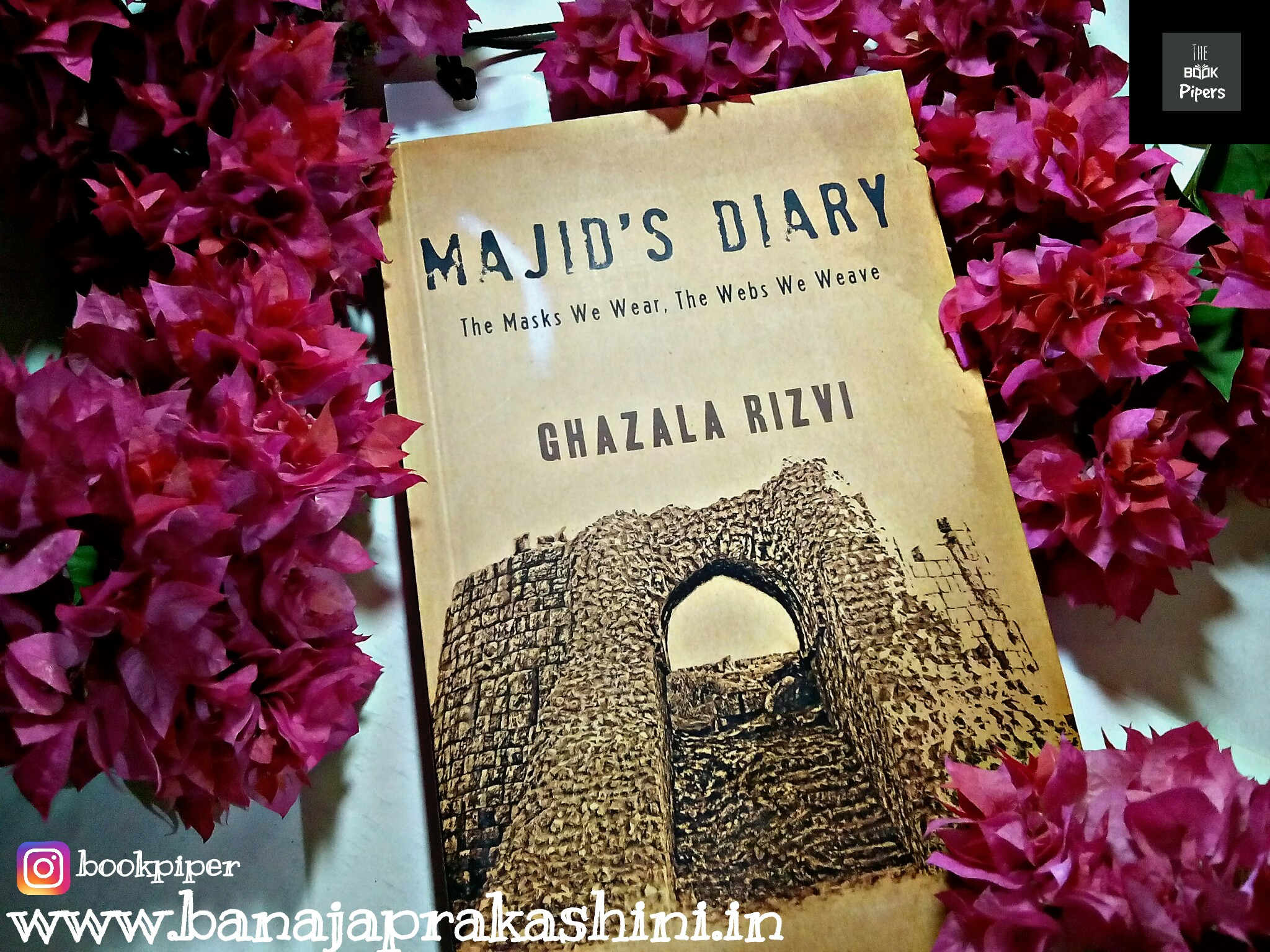 Review Pen: Majid's Diary – The masks we wear, The webs we weave By  Ghazala Rizvi