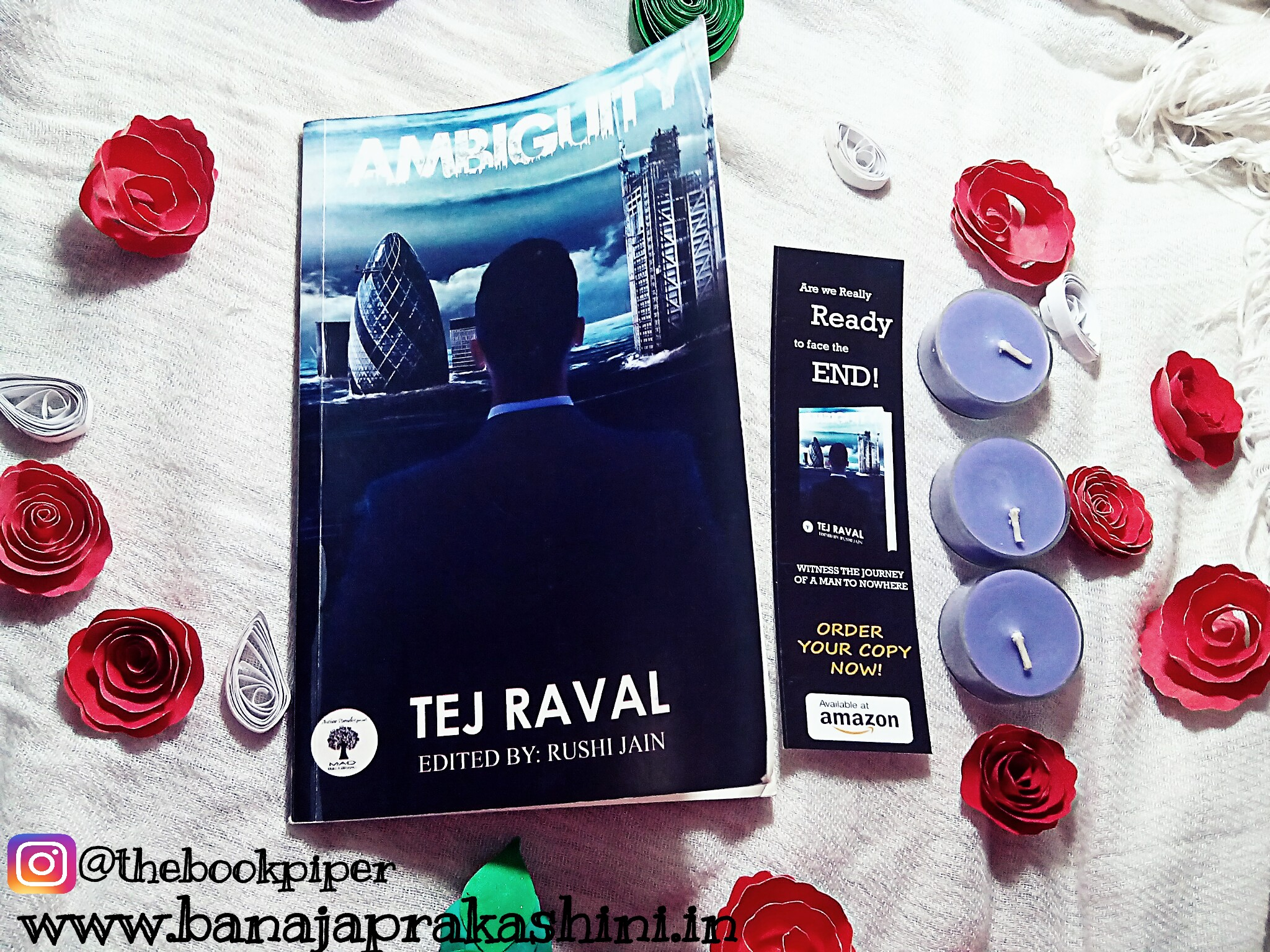 Review Pen: Ambiguity By Tej Raval