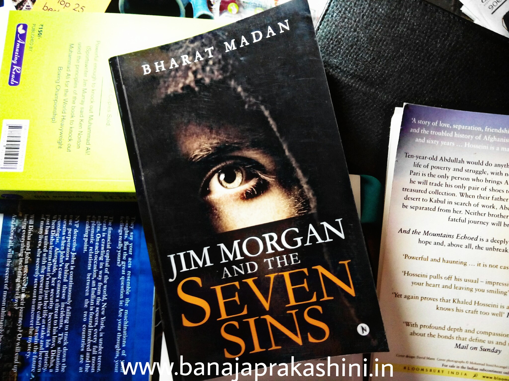 Review Pen: Jim Morgan And The Seven Sins by Bharat Madan (Paperback)