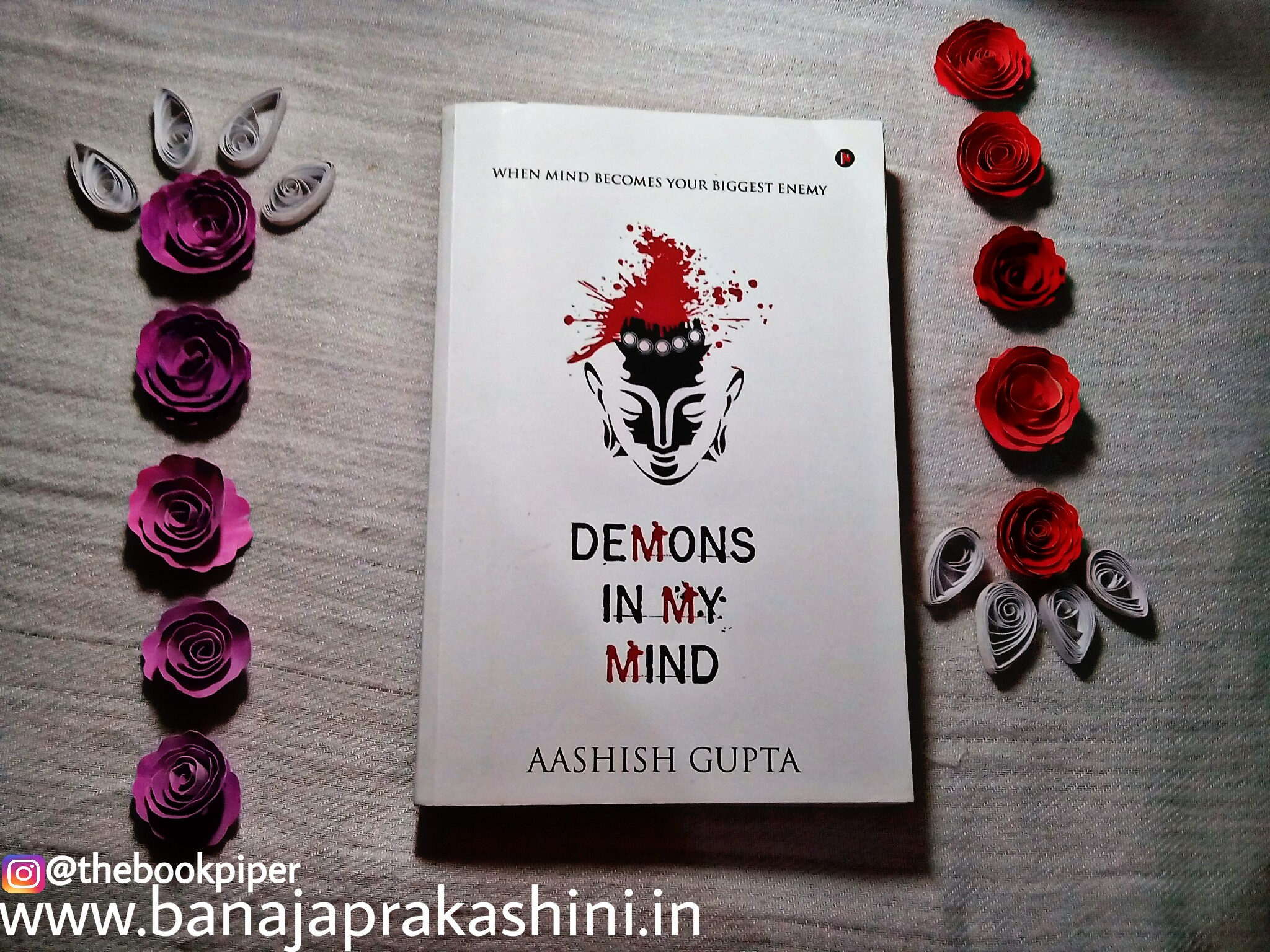 Review Pen: Demons In My Mind by Aashish Gupta
